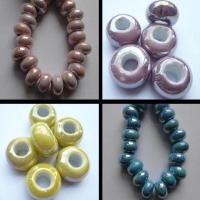 Buy Beads Ceramic Beads Big Hole Beads  at wholesale prices