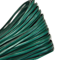 Buy Leather Cord Flat Leather Italian Leather Cord  3mm  at wholesale prices