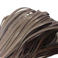 Buy Cordons en Cuir Plats Italien 4mm  at wholesale prices