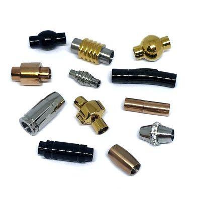 Buy Chiusure per Gioielli Chiusure Magnetiche Chiusure magnetiche in acciaio inox Fermagli tondi  5mm  at wholesale prices