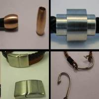 Buy Stainless Steel Magnetic Clasps Matt Finish  at wholesale prices
