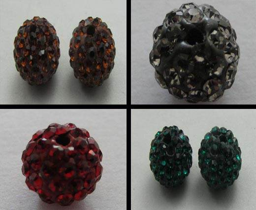 Buy Perles Shamballa Rondes 6mm  at wholesale prices