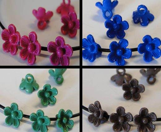 Buy Beads Metal Beads - Flowers  at wholesale prices