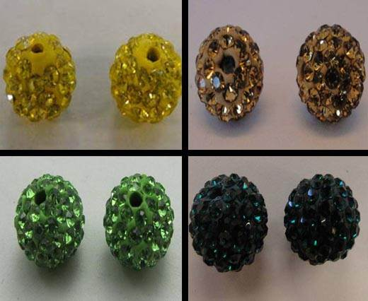 Buy Perles Shamballa Rondes 8mm  at wholesale prices