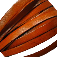 Buy Leather Cord Flat Leather Italian Leather Cord  8mm  at wholesale prices
