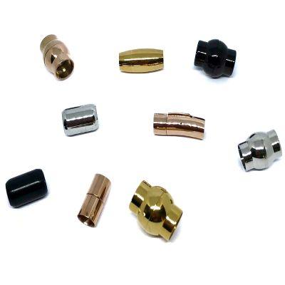 Buy Chiusure per Gioielli Chiusure Magnetiche Chiusure magnetiche in acciaio inox Fermagli tondi  9mm - 14mm  at wholesale prices