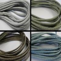 Buy Leather Cord Wholesale Nappa Leather Cords Manufacturer Round Stitched Lizard Prints - 3mm at wholesale prices
