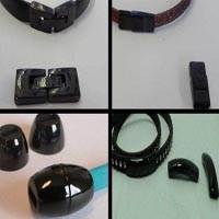 Buy Clasps Magnetic Clasps  Stainless Steel Magnetic Clasps Black Clasp  Flat Leather   at wholesale prices
