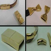 Buy Clasps Magnetic Clasps  Stainless Steel Magnetic Clasps Gold Clasp Flat Clasps - All sizes   at wholesale prices