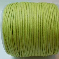 Buy Bead String material and Faux Cords Waxed Cotton Cord Round - 3mm  at wholesale prices