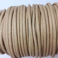 Buy Bead String material and Faux Cords Waxed Cotton Cord Round  - 4mm  at wholesale prices