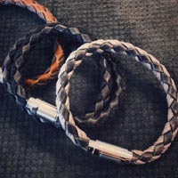 Buy Leather Cord Braided Leather Cord Braided Leather with Cotton  at wholesale prices
