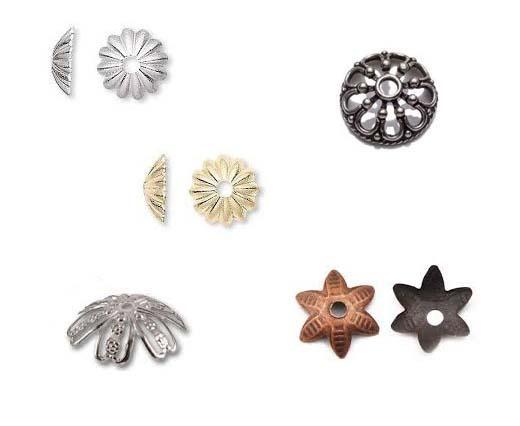 Buy Edelstahlzubehör Verschlusskappen für Perlen  at wholesale prices