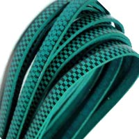 Buy Leather Cord Flat Leather Italian Leather Cord  5mm Chess Print Leather Cord   at wholesale prices