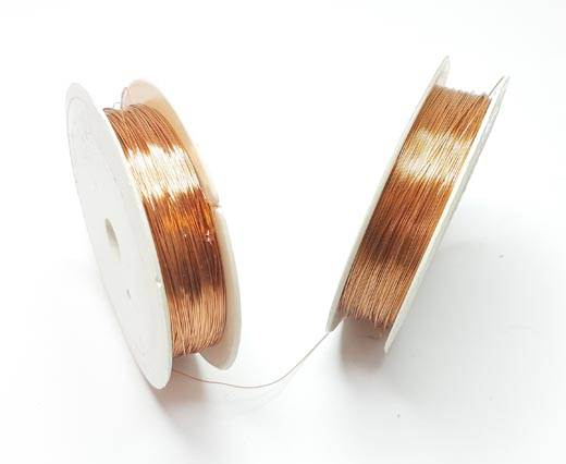 Buy Cordoncino in eco pelle Copper Wire  at wholesale prices