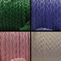 Buy Simili, faux et textiles Simili cuir tressé Plat - 5mm  at wholesale prices