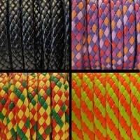 Buy Simili, faux et textiles Simili cuir tressé Epais - 10mm  at wholesale prices