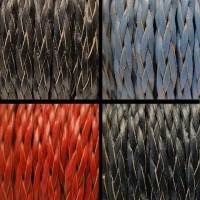Buy Leather Cord Braided Leather Flat Flat Braided Leather Cords Style 3 - 10mm  at wholesale prices