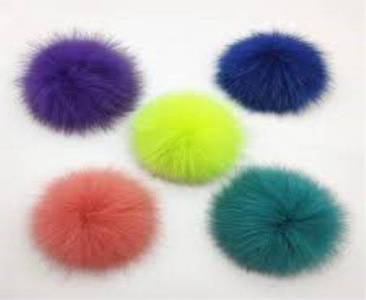 Buy Jewelry Making Supplies Fur and Feathers for Jewelry and Hats Fox Fur - 14cm  at wholesale prices