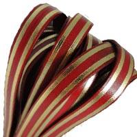 Buy Lederbänder Lederbänder flach Italienische Lederbänder Streifen-Stil - 10mm  at wholesale prices