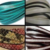 Buy Leather Cord Flat Leather   at wholesale prices