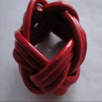 Buy Leather Cord Leather Rings Leather Rings at wholesale prices