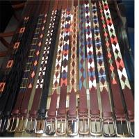 Buy Lederbänder Leder-Accessoires Ledergürtel im Polostil  at wholesale prices