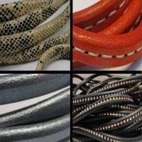 Buy Leather Cord Regaliz Leather   at wholesale prices