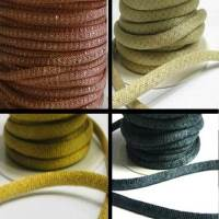 Buy Cordoncino in eco pelle Mesh Cords   at wholesale prices