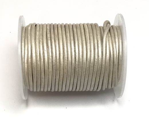 Buy Leather Cord Round Leather 1.5mm Metallic   at wholesale prices