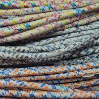 Buy Lederbänder Rund gesäumt Verschiedene Muster - 6mm  at wholesale prices