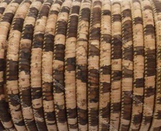 Buy Cordons en Cuir Cordons en liège Ronds 3mm Round Stitched Cork Cords  at wholesale prices