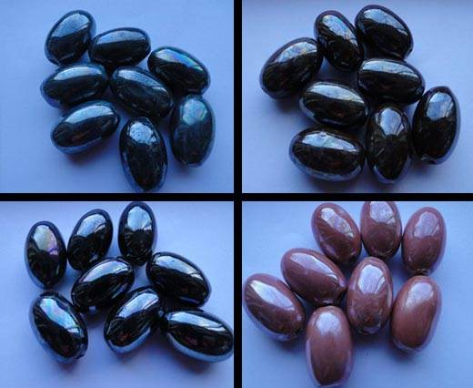 Buy Beads Ceramic Beads Oval  at wholesale prices