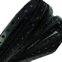 Buy Lederbänder Lederbänder flach Italienische Lederbänder Leder mit Prägung - 10mm  at wholesale prices