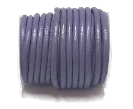 Buy Leather Cord Round Leather 5mm Plain  at wholesale prices
