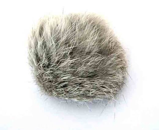 Buy Jewelry Making Supplies Fur and Feathers for Jewelry and Hats Rabbit Fur - 5cm  at wholesale prices