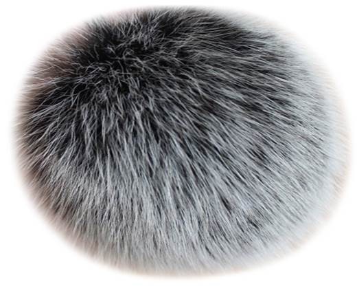 Buy Jewelry Making Supplies Fur and Feathers for Jewelry and Hats Rabbit Fur - 7cm  at wholesale prices