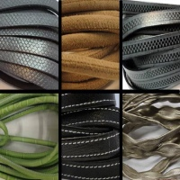Real Nappa Leather Cords - Multiple Sizes and Styles