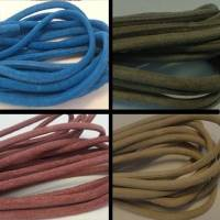 Buy Leather Cord Suede Cord Round Suede  4mm  at wholesale prices