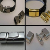 Buy Clasps Magnetic Clasps  Zamak Magnetic Clasps Regaliz Leather Clasps  at wholesale prices