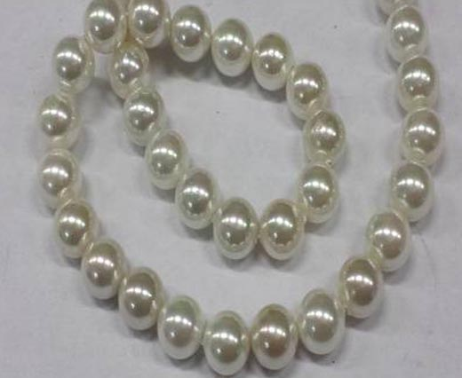 Buy Pietre semi preziose Perle  Perle in forma rotonda Perle tonde - 10 mm  at wholesale prices