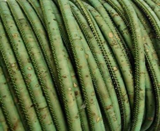 Buy Cordons en Cuir Cordons en liège Ronds 6mm Round Stitched Cork Cord  at wholesale prices