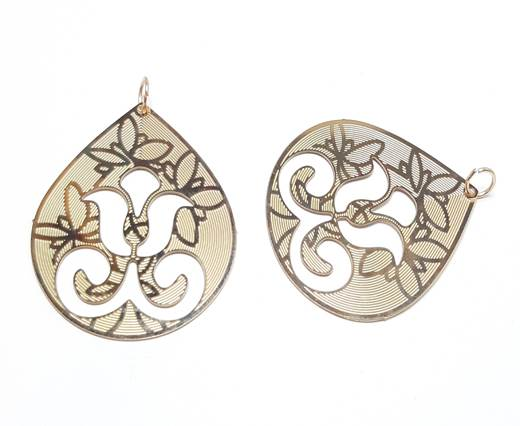 Buy Stainless Steel Pendants and Charms Flat Charms -  Earrings and Pendants  at wholesale prices