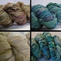 Buy Silk Cords and Ribbons Sari Silk Ribbons  at wholesale prices