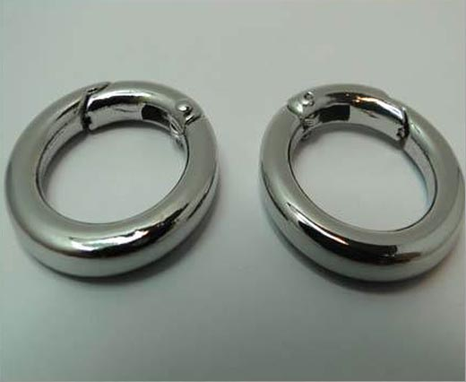 Buy Fermoirs  Fermoirs à ressort Silver Plated Springring Clasps  at wholesale prices