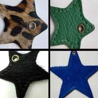 Star Shapes in Various Sizes