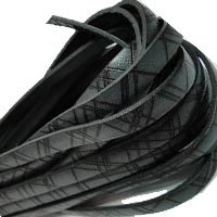 Buy Lederbänder Lederbänder flach Italienische Lederbänder Linienstil - 5mm  at wholesale prices