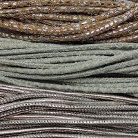 Buy Lederbänder Rund gesäumt 3mm  at wholesale prices