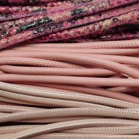 Buy Lederbänder Rund gesäumt 6mm  at wholesale prices