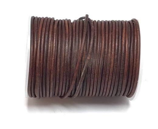 Buy Lederbänder Rundriemen Rundriemen 2mm  at wholesale prices
